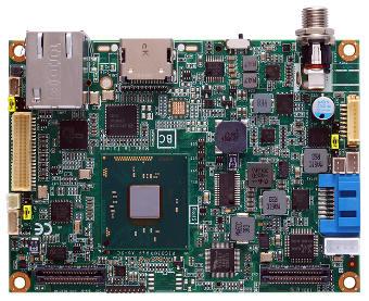 Placa madre Pico-ITX con display dual