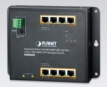 Switch PoE gestionado industrial