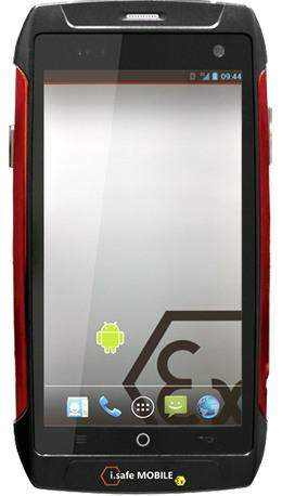 Smartphone ATEX con pantalla táctil