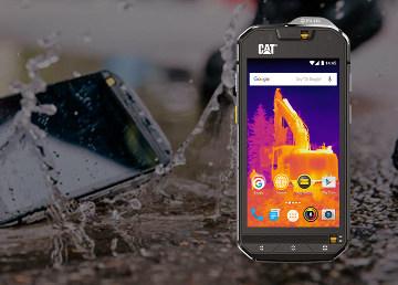 Smartphone con cámara térmica y submarina