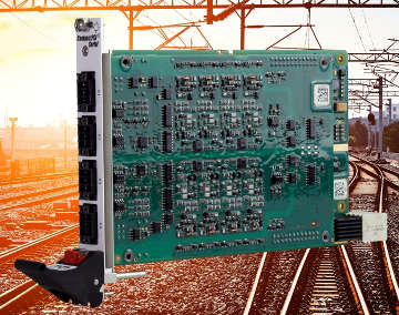Tarjeta CompactPCI bidireccional