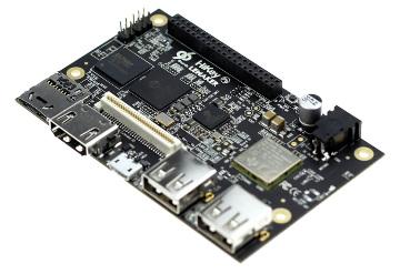 Placa base en miniatura con CPU