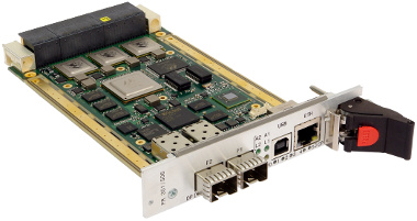 Switch 3U VPX con 10 GbE