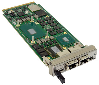 Módulo AdvancedMC con PCI Express