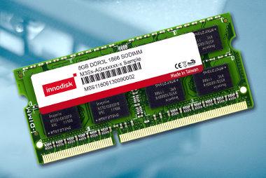 Módulos DRAM DDR3L 1866 industriales