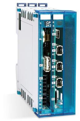 Módulos CPU para carril DIN