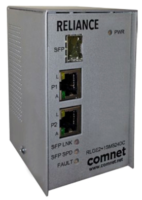 Switch Ethernet industrial autogestionado