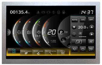Módulos TFT-LCD con diseño robusto