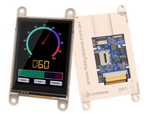 Módulos de display inteligentes con WiFi integrado