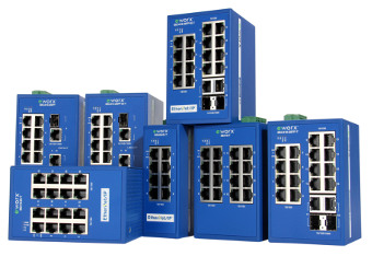 Switch Ethernet para automatización industrial