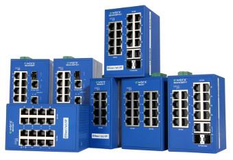 Switch Ethernet para automatización industrial