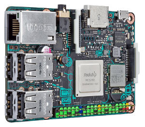 Placa de desarrollo con CPU ARM