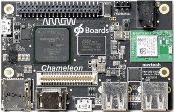 Placa con sistema criptográfico