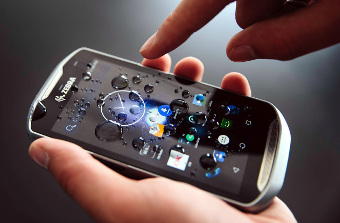 Terminal táctil tipo Smartphone