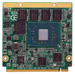 Módulo Qseven con procesador Intel