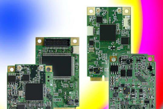 Módulos Mini-PCIe para captura de video