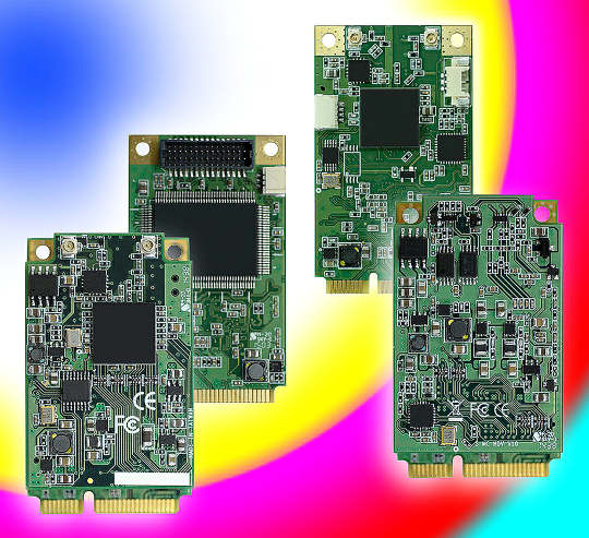 Módulos Mini-PCIe para captura de video
