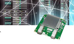 Módulos LAN 100 GbE para 5G