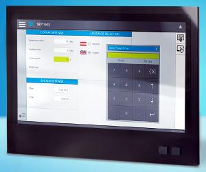 panel PC multitáctil panorámico