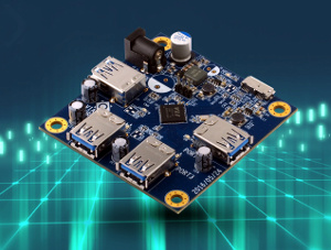Placa controladora certificada SuperSpeed USB 10 Gbps