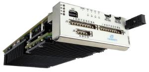 Transceptor de banda ancha octal de 300 MHz a 6 GHz