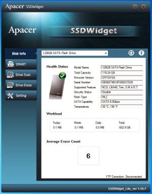 Software para monitorización de discos en tiempo real