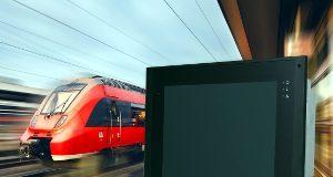 Panel PC EN 50155 para transportes