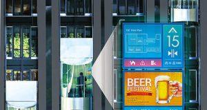 Reproductores de cartelería digital para ascensores