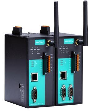 Servidores con E/S digitales y Wi-Fi