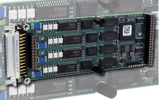 Tarjeta mezzanine con 4 UARTs