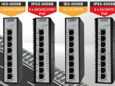 Switches Ethernet con certificado E-mark