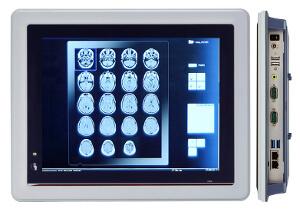 PC táctil en panel para usos médicos