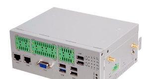Box PC de control industrial para carril DIN