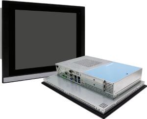 Paneles PC industriales táctiles