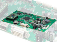 Controlador de paneles planos 4K UHD