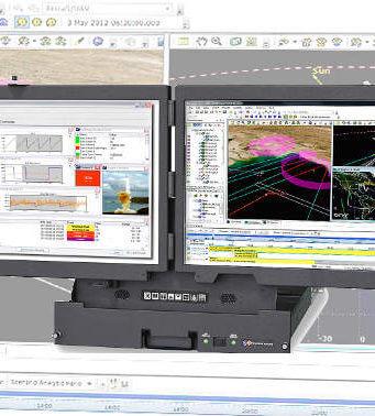 Sistema LCD militar para montaje en rack