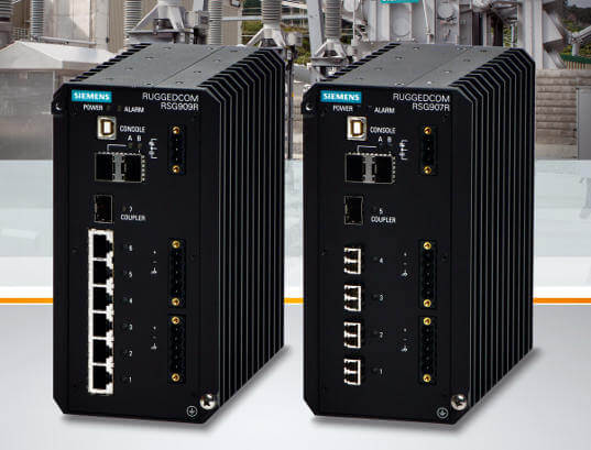 Switches compactos y rugerizados Ethernet Gigabit
