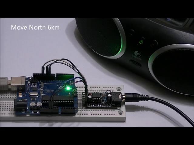 Módulo de órdenes vocales para Arduino