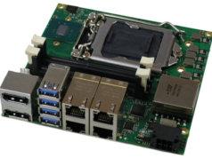 SBC industrial con procesadores de séptima generación