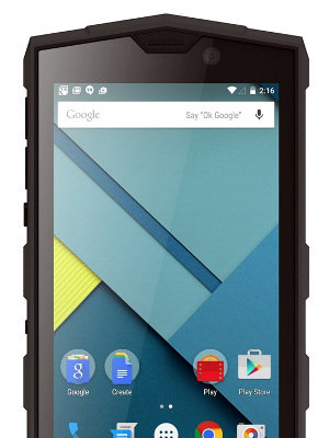 PDA industrial táctil con Android 8.0