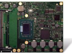 COM Express Type 6 con AMD Ryzen Embedded V1000
