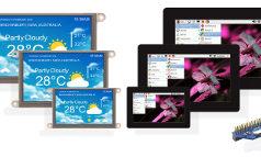 Módulos de pantalla táctil compatibles con Raspberry Pi