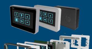 Marcos para pantallas en sistemas de control