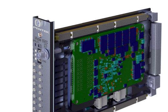 Tarjeta Open VPX 3U RFSoC Quartz