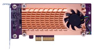 Tarjetas PCIe para almacenamiento SSD M.2
