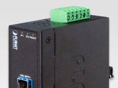 Convertidor industrial de cobre a fibra óptica
