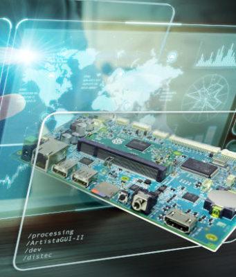 Controlador TFT inteligente para interfaces de usuario