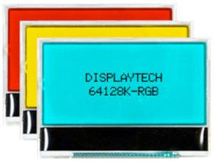 Displays LCD de 128 x 64 puntos