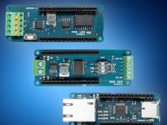 Shields Arduino para redes de comunicaciones industriales