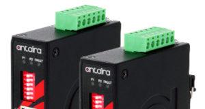 Conversores industriales de Ethernet a Fibra óptica